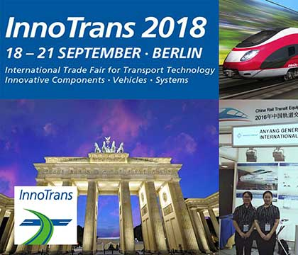 InnoTrans 2018 Invitation From AGICO GROUP
