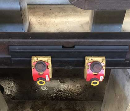 Emergency Fishplate And Rail Clamp For Railway Maintenance Exported To Thailand