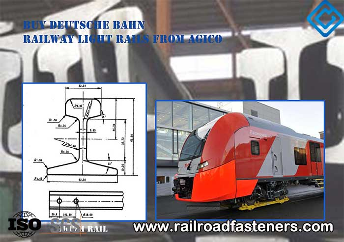 Heavy steel train rail made in china