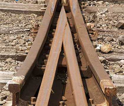 How to Lay Rail Track and Railway Turnout in Coal Mines