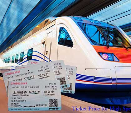 Ticket Price Mechanism of High Speed Train